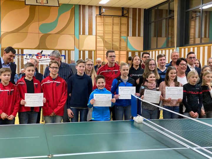 Gelungene Sportlerehrung des Westerwaldkreises in Norken
